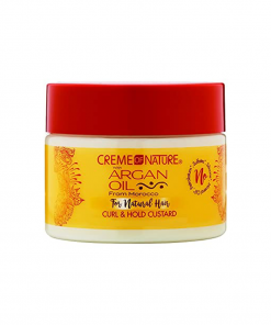 Creme of Nature Argan Oil - Curl and Hold Custard crema pentru bucle 326 g