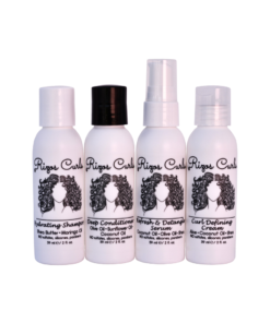 Rizos Curls – Set de calatorie Reina 4-Step Travel Kit 59 ml / buc