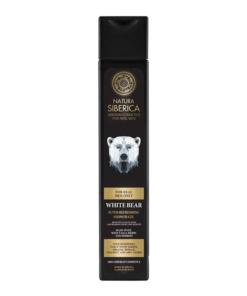 Natura Siberica – Gel de dus revigorant White Bear 250 ml