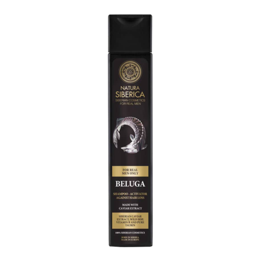 Natura Siberica – Sampon impotriva caderii parului Beluga 250 ml