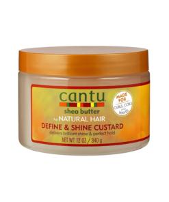 Cantu – Define & Shine Custard gel pentru par 340 g