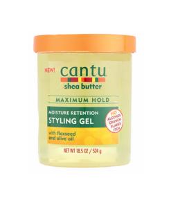 Cantu – Moisture Retention Styling gel pentru par cu seminte de in si ulei de masline 524 g