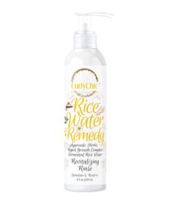 CurlyChic – Rice Water Remedy solutie revitalizanta pentru limpezirea parului 239 ml