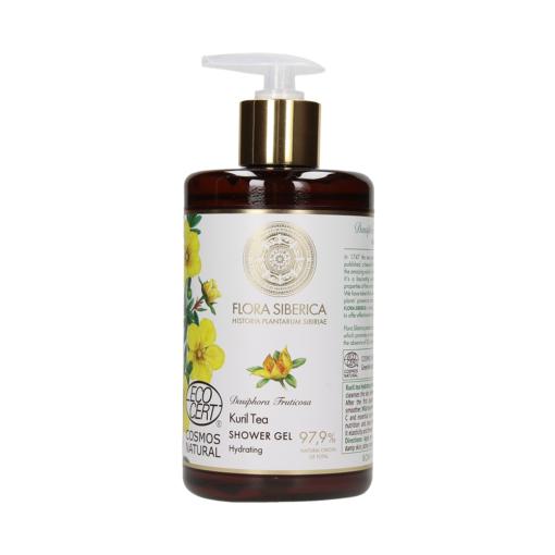 Flora Siberica – Gel de dus hidratant Kuril Tea 480 ml