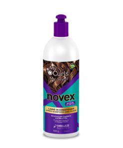 Novex – Balsam fara clatire My Curls pentru par cret si ondulat 500 ml